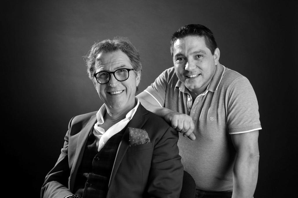Bernard Lassoujade et Jean-Michel Batoca, directeurs de la société TAULOU