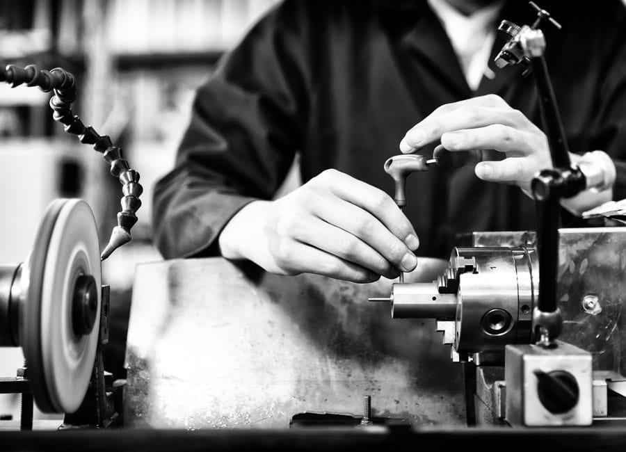 Réparation de moules métalliques pour injection plastique